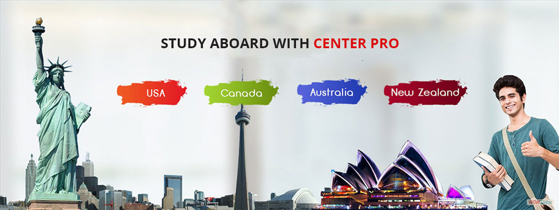 study abroad with Center PRO - USA, Canada, Australia, New Zealand